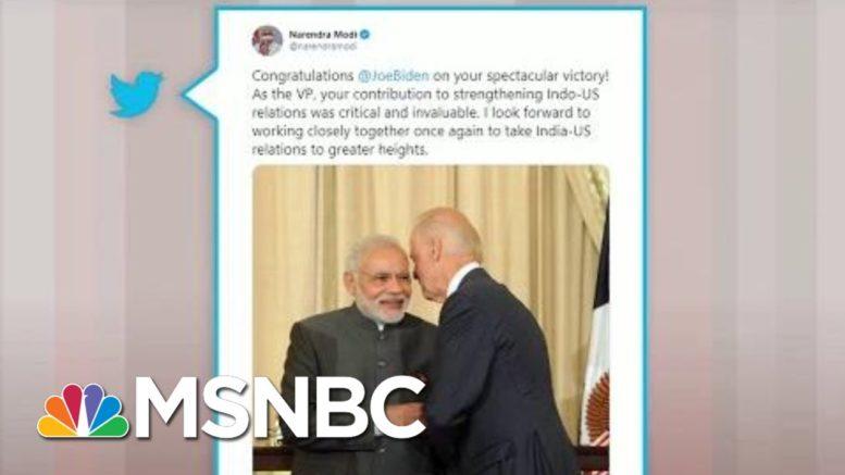 World Leaders React To Joe Biden's Victory | Morning Joe | MSNBC 1