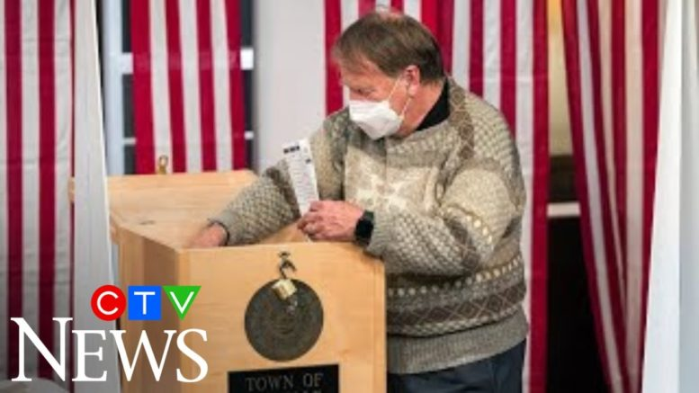 Biden takes all 5 votes in tiny New Hampshire township 1