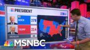 "Steve Kornacki Explains How Joe Biden Rebuilt The ""Blue Wall"" & Won The Presidency | Andrea Mitchell 3"