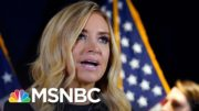 Fox News Cuts Away From Kayleigh McEnany's Baseless Claims Of Voter Fraud | Deadline | MSNBC 2