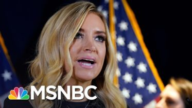 Fox News Cuts Away From Kayleigh McEnany's Baseless Claims Of Voter Fraud | Deadline | MSNBC 10