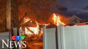 Caught on cam: Gas explosion destroys houses in New York 4