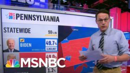 Steve Kornacki Says Biden's Path To Victory Was Through | Deadline | MSNBC 3