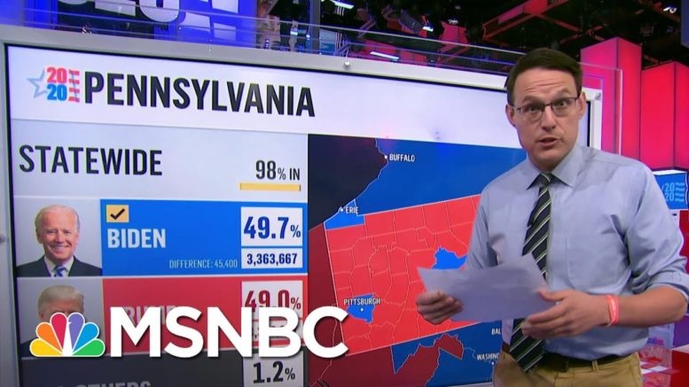 Steve Kornacki Says Biden's Path To Victory Was Through | Deadline | MSNBC 1