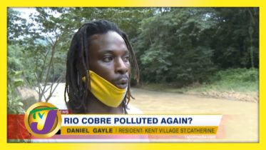 Rio Cobre Polluted Again? - November 6 2020 6