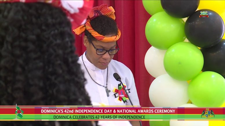 National Day Observance Ceremony for Dominica's 42nd Anniversary of Independence 1