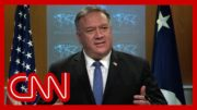 See what Pompeo said when asked about Biden's victory 3