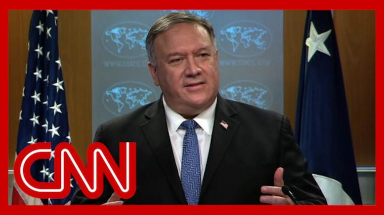 See what Pompeo said when asked about Biden's victory 1
