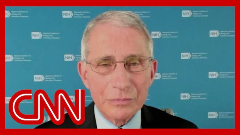 Fauci says vaccine could be available to all by April 1