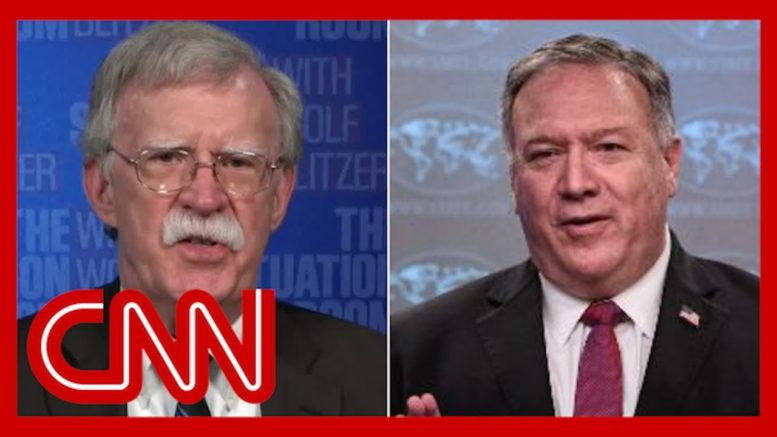 John Bolton: Mike Pompeo 'has eviscerated his credibility' 1