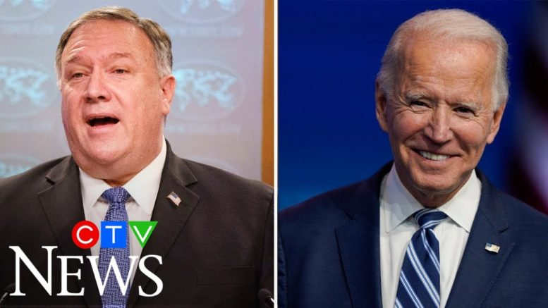 Pompeo says there will be a smooth transition to 'second Trump' term. Here's how Joe Biden reacted 1