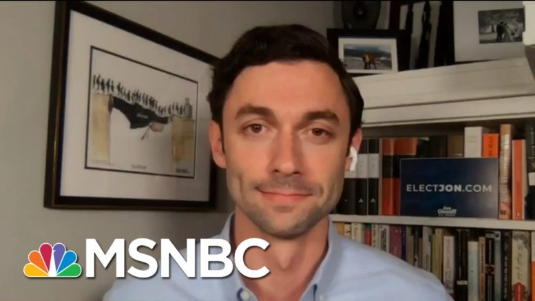 Ossoff Reacts To Perdue Calling For Resignation Of Ga. Sec. Of State | All In | MSNBC 1