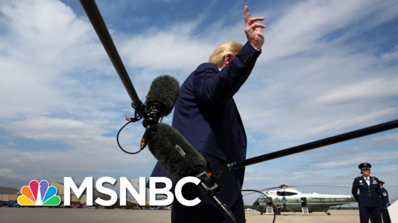 As Trump Refuses To Concede, A Look Back At How It's Done | The 11th Hour | MSNBC 1