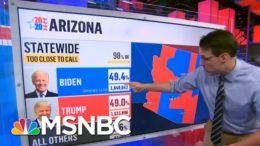Kornacki Explains Why Arizona And Georgia Are Still Undecided | The 11th Hour | MSNBC 2
