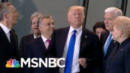 Foreign Leaders Eager To Embrace New U.S. Administration | Rachel Maddow | MSNBC 8