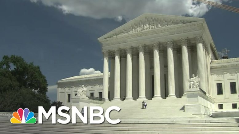 Supreme Court Hears Arguments In Challenge To Affordable Care Act | Andrea Mitchell | MSNBC 1