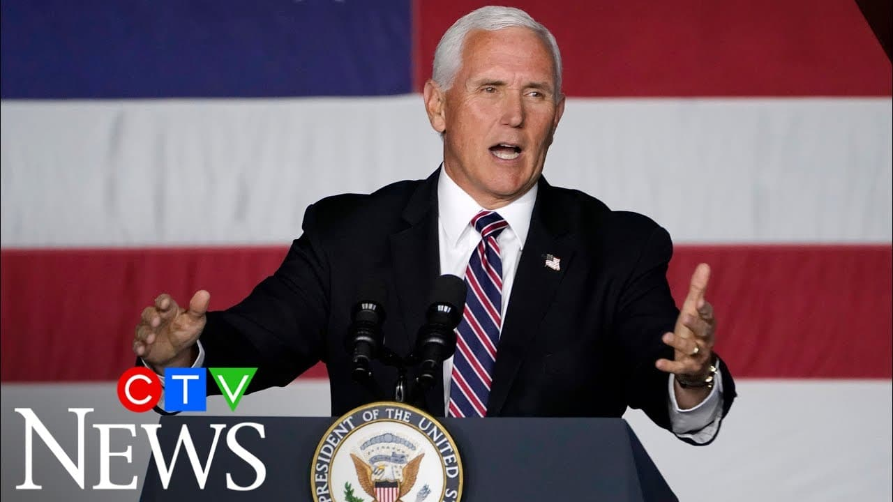 US election: Looking back at the political path and priorities of Mike Pence 6