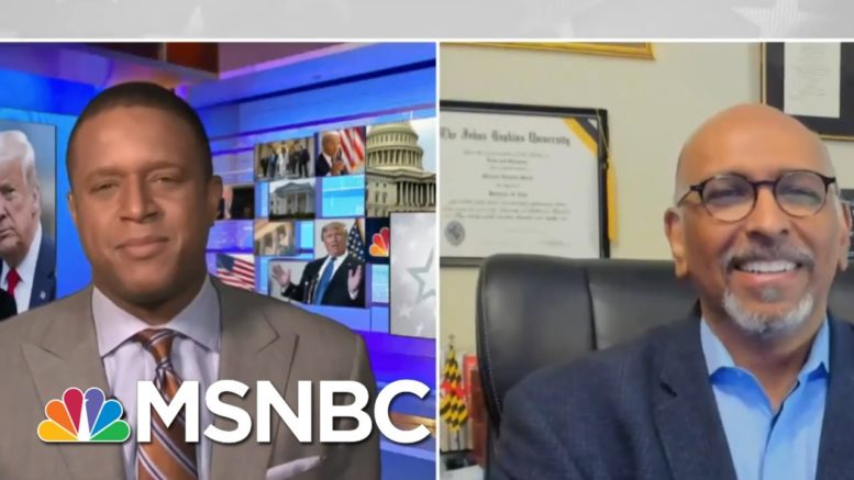 Michael Steele On Trump's Refusal To Concede: 'He's Shell-Shocked' | Craig Melvin | MSNBC 1