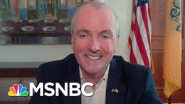 Gov. Murphy Says Getting Rid Of Obamacare Could Be 'Devastating' | Katy Tur | MSNBC 5
