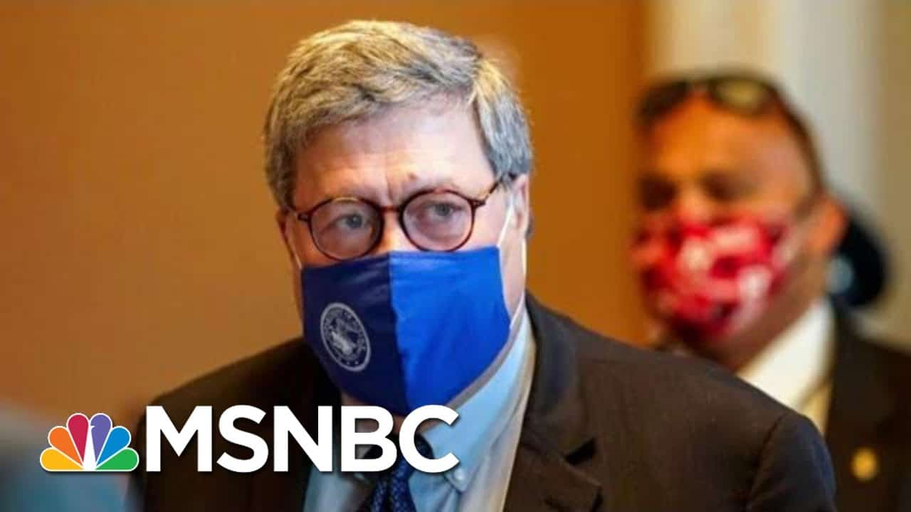 Trump Is The Loser Of The 2020 Race And AG Barr Can't Change That | The Beat With Ari Melber | MSNBC 6