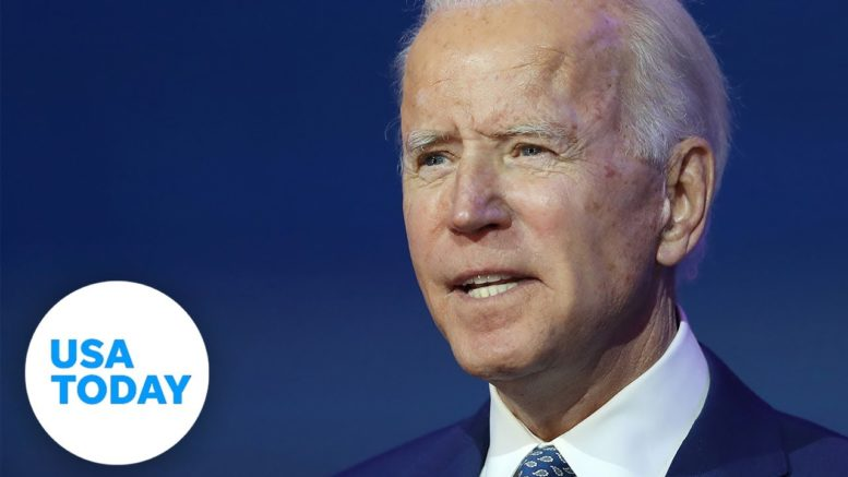 President-elect Joe Biden speaks about the Affordable Care Act. 1