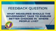 TVJ News: Feedback Question - November 9 2020 2