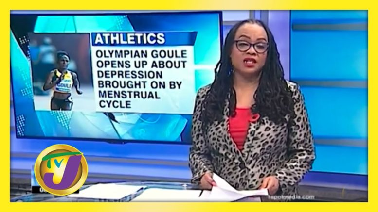 Goule Opens up about Menstrual Cycle & Depression - November 9 2020 1