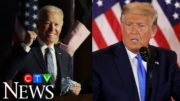 Election night speeches from Trump and Biden 2