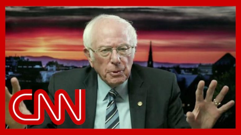 Watch Sanders' reaction to Trump refusing to concede 1
