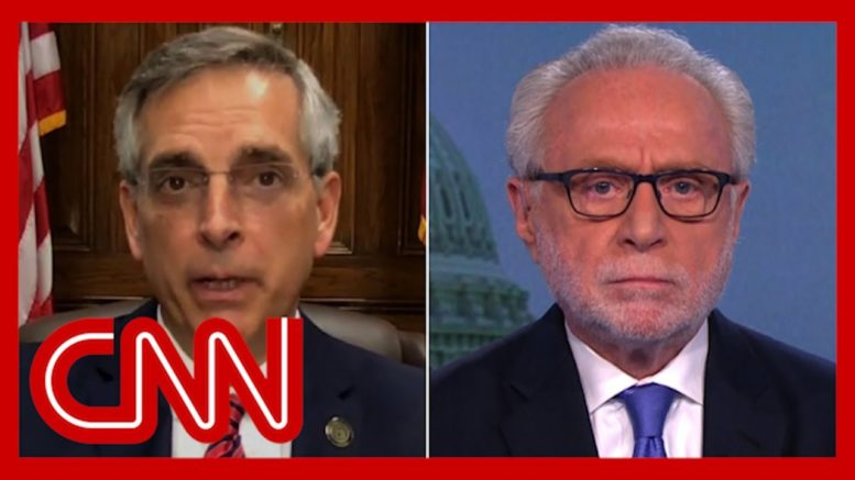 Blitzer asks top Georgia election official if he's seen widespread voter fraud 1