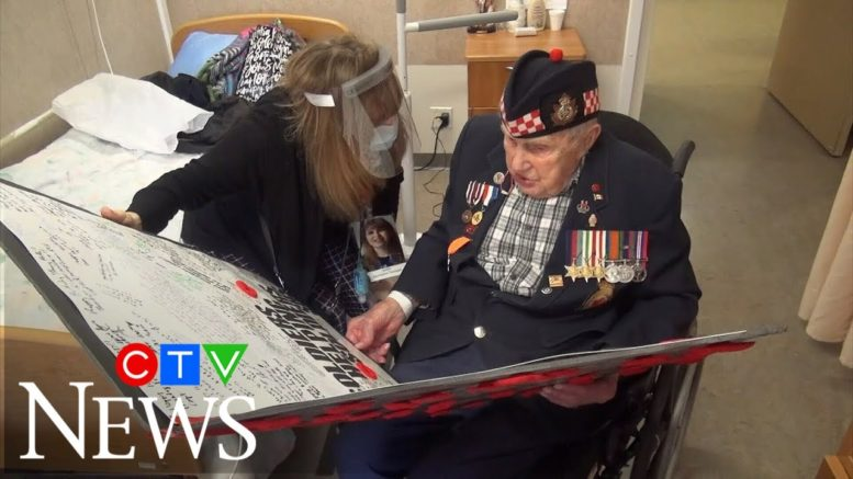 100-year-old veteran finds comfort in cards from strangers 1
