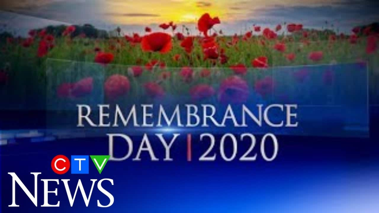 CTV News Special: Coverage of Remembrance Day 2020 amid COVID-19 7