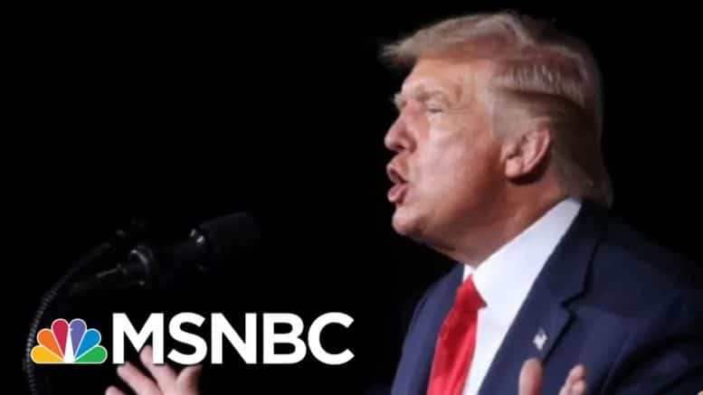 Trump's Debt, Greed, And Loose Lips Raise Security Concerns After Office | Rachel Maddow | MSNBC 1