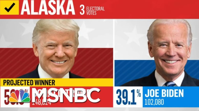 NBC News Projects Trump Will Win Alaska | MSNBC 1