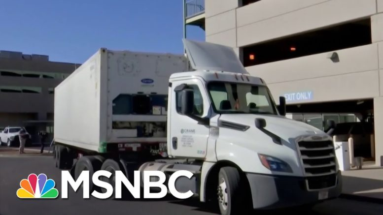 El Paso Running Out Of Morgue Space As Covid Cases Continue To Rise In TX | Stephanie Ruhle | MSNBC 1