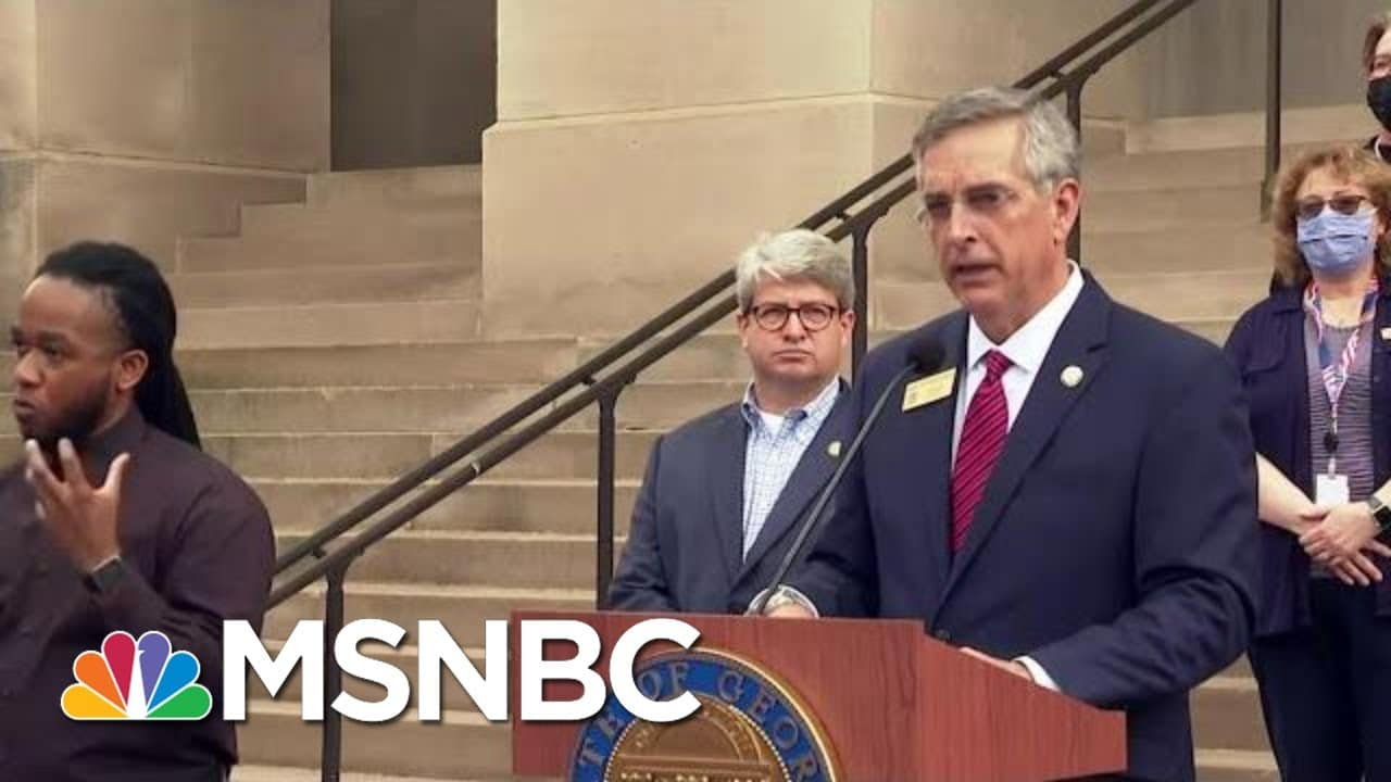 Georgia To Recount All Presidential Ballots By Hand | MTP Daily | MSNBC 5