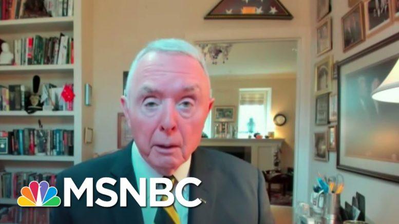 Gen. Barry McCaffrey On Shakeup At The Pentagon: 'Mark Me Down As Alarmed'   Deadline   MSNBC 1