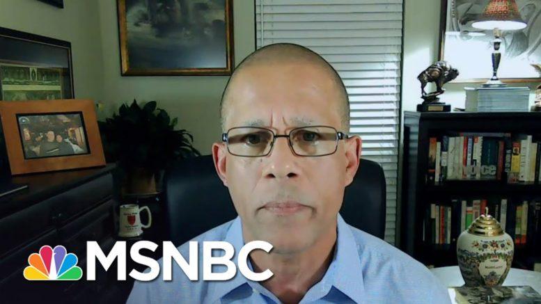 Rep. Anthony Brown: Trump Impacting Troop Moral, Impacts Troop Readiness | Deadline | MSNBC 1