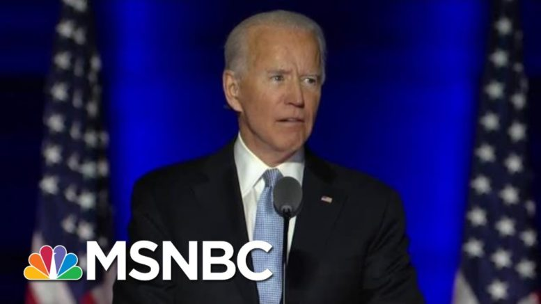Epic Loser: New Data Shows Biden Smashing 80-Year Record In Victory Over Trump | MSNBC 1