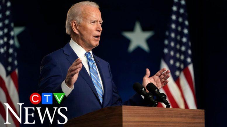 Biden speaks in Delaware: 'We believe we'll be the winners' 1