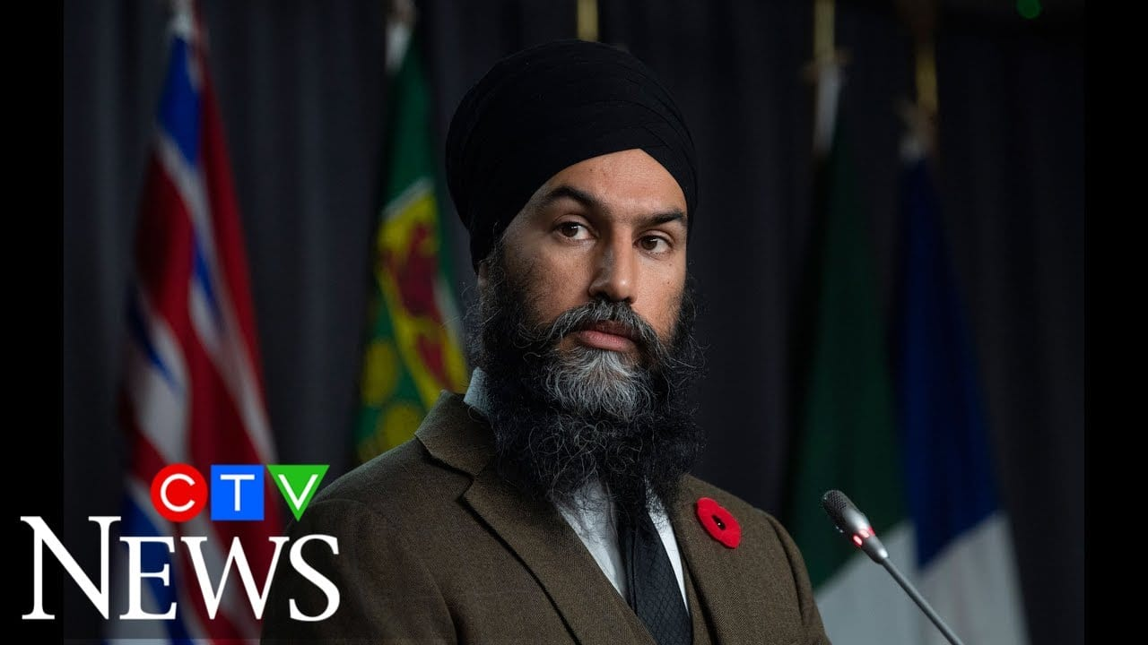 """""""Beyond the realm of normalcy"""": NDP Leader Jagmeet Singh on calling out Trump 8"""