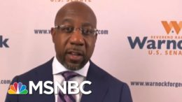 Warnock: 'Politics Right Now Is Too Much About Politicians' | The Last Word | MSNBC 6