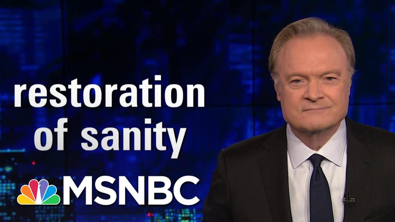 Lawrence: 'Donald Trump's Silence Is His Concession Speech' | The Last Word | MSNBC 3
