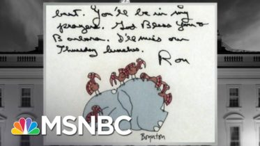 How Presidents (Usually) Pass The Torch To The Next In Line | The 11th Hour | MSNBC 6
