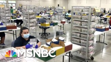 U.S. Election Workers Deliver Smooth Election Despite Hectoring From Trump | Rachel Maddow | MSNBC 6