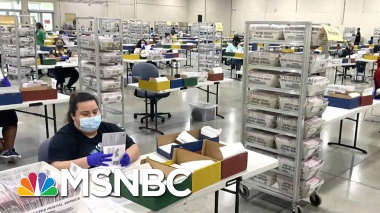 U.S. Election Workers Deliver Smooth Election Despite Hectoring From Trump | Rachel Maddow | MSNBC 1