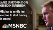 GOP Senator Calls On Biden Transition To Begin | Morning Joe | MSNBC 4
