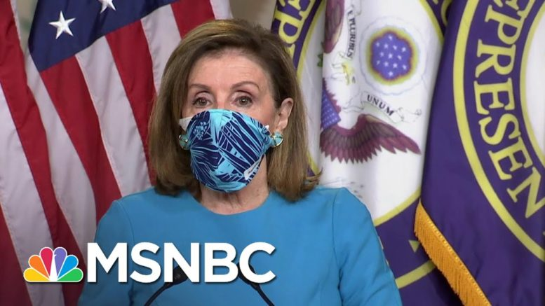 Pelosi Accuses Republicans Of 'Refusing To Accept Reality' Of Covid Pandemic | MSNBC 1
