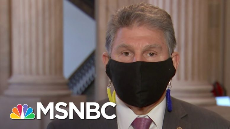 'It Hurts Us': Sen. Manchin Reacts To His State's Governor Refusing To Acknowledge Biden Win 1