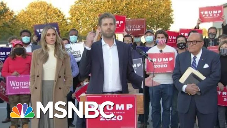 After Trump Lost Election, See How He's Losing In Court | The Beat With Ari Melber | MSNBC 1
